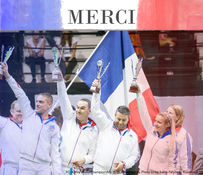 Merci à tous les champions, venus des quatre coins de la planète, pour nous avoir offerts ce superbe spectacle et toutes ces émotions.