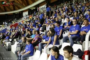 Un grand merci à tous les supporters venus nombreux encourager nos champions à Bologne en Italie ! Votre soutien a permis à nos athlètes de se surpasser!